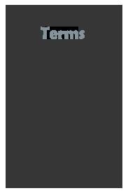 Studio terms